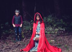 Little Red Riding Hood concept shoot on the Reverie Blog: http://reveriemine.com/into-the-woods-pt-one/ #reverie