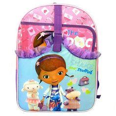 Disney Doc McStuffins Shake Your Stuffing Backpack - Kids
