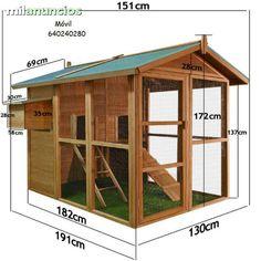 MIL ANUNCIOS.COM - Gallinero madera maciza