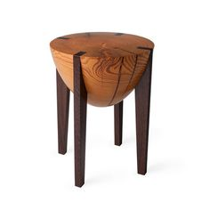 Kind of like this stool, it has an interesting shape. I wonder if I would look like a giant egg sitting on it?
