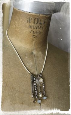 My+Favorite+Dangles+Necklace+by+crdesigngallery+on+Etsy,+$58.00