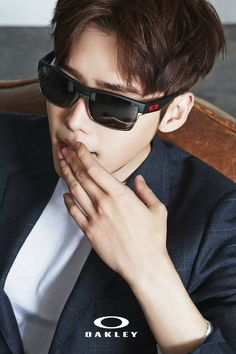 7104712890c Lee Jong Suk proves glasses are sexy in photo shoot for Oakley