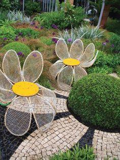 Mosaic Flower : Landscaping : Garden Galleries : HGTV - Home & Garden Television