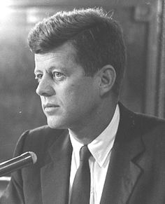 """John Fitzgerald Kennedy (May 29, 1917 – November 22, 1963), commonly known as """"Jack"""" or by his initials JFK, was the 35th President of the United States, serving from January 1961 until he was assassinated in November 1963. ❤❤❤❤  http://en.wikipedia.org/wiki/John_F._Kennedy"""