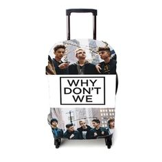 Why Dont We Collage 2 Luggage Cover Luggage Cover, Collage, Make It Yourself, Iphone, Collage Art, Collages, Colleges