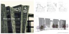 Architecture Portfolio - updated by Liliana Škrobot, via Behance