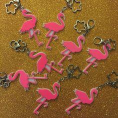 Flamingo Key Chain #tukutukum #flamingo #keychain