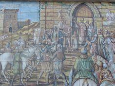 Tile mural in Caltagirone