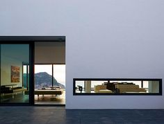 Love this house! So contemporary...not my personal style at all...but I absolutely love the architecture!