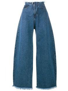 Marques'almeida широкие джинсы