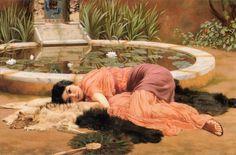 Dolce far Niente (Sweet Nothings),   John William Godward (1861–1922)