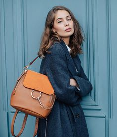 New style, just in #Chloe Faye is updated with a care-free attitude as seen on Marie-Ange Casta