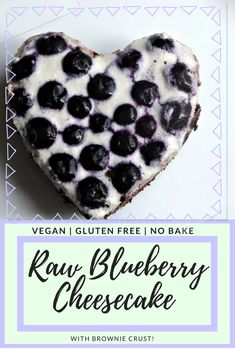 No Bake, gluten free and vegan cheesecake! Make it any flavour you like! Perfect for Valentine's Day <3