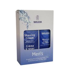 Perfect for Chrissy or even a 'thank god Movember is over-now shave' gift ;) On sale for $27.90 Yay! Weleda Men's Gift Pack