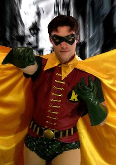 Cosplay made by our own factories. Lowest price,Good quality,Buy Cosplay from Rolecostumes is your best handmade to fit your body. Robin Cosplay, Robin Costume, Dc Cosplay, Male Cosplay, Best Cosplay, Cosplay Costumes, Awesome Cosplay, Cosplay Ideas, Batman Tv Show