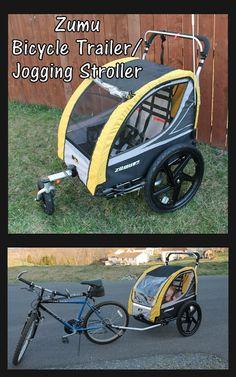 Enter to #Win a Zumu Bike Trailer/Jogger/Stroller. Giveaway Ends 4/28/13