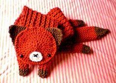 Fox scarf too cute