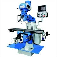 ETM-2VS VARI TURRET MILLING MACHINE ETM-2VS R8 Variable Speed 1-199-2003 AXIS DRO - Power feed to three axis. Versatile machine for drilling - milling and boring operations. Heavy-duty and sturdy machine is made of meehanite casting of generous proportion. Rigid machine is rated for continuous use and will give you longer life expectancy. Accurate engineering tolerances have been met by highly skilled engineers during manufacture. For more Details Click The Product Link....