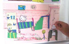 кукольный домик на холодильнике