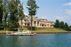 Mansion on the lake  #DreamHome #LakeHouse #Mansion