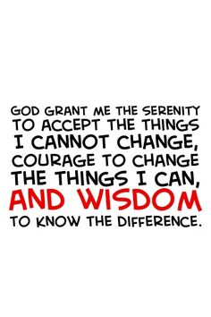 Serenity Prayer. I want to get this tattoo.