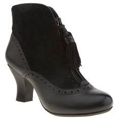 Hush Puppies Black Lolita Boots