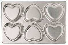 Amazon.com: Wilton 6-Cavity Mini Heart Pan: Kitchen & Dining
