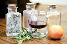 DIY Gift Hand-infused Salts