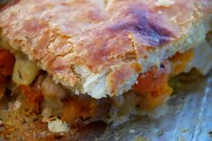 Roasted Root Vegetable Pot Pie - made a lot of changes and used phyllo