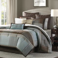 Found it at Wayfair - Lincoln Square 8 Piece Comforter Set
