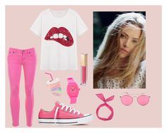 """""""Pink"""" by lejlahasic ❤ liked on Polyvore"""