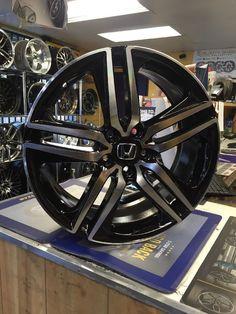 Cool Awesome 19 2017 Accord Sport Style Wheels Rims Black Fits Honda Ex Lx