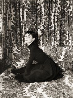 Audrey Hepburn by Cecil Beaton,1954