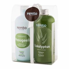he biodegradable, mild wash gel is suitable for the whole family, while the sauna scent's pungent green leaves and warming herbs will be appealing to any guest of your sauna. Wash Gel & Sauna Scent Eucalyptus Gift Set