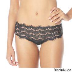 0cc87006c2aa Rhonda Shear Women's Chanteuse Thong Unlined Bra, Women Clothing Stores  Online, Bra And Panty