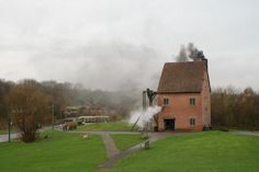 Black Country Living Museum: In 1712 Thomas Newcomen built the first successful steam engine in the world which was used for pumping water from coal mines on Lord Dudley's estates.  In 1986, after more than ten years of painstaking research, the Museum completed the construction of a full scale working replica of that 1712 engine.