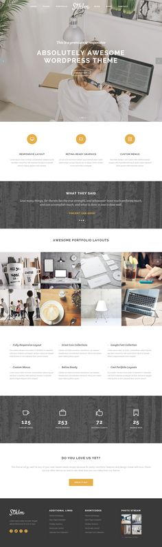 Stockholm is Premium Responsive Retina WordPress Multipurpose Theme. Parallax Scrolling. WooCommerce. Gravity Forms. Isotope. Test free demo at: http://www.responsivemiracle.com/cms/stockholm-premium-responsive-multi-concept-wordpress-theme/