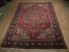 Royal Heriz Rug Admirable Design 100% Handmade Rug 8x11 Persian-Iranian carpet