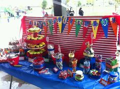 My sons carnival party:)