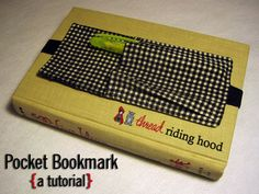 Thread Riding Hood - Pocket Bookmark Tutorial