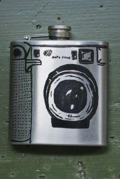 Canon camera flask#photography #camera @Jill Mott