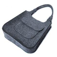 TOP GLAM - torebka na ramię - szara