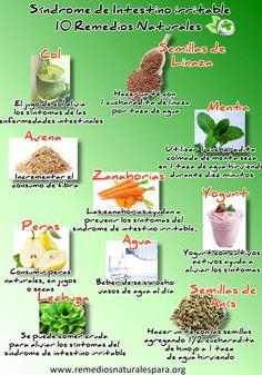 Remedios naturales para prevenir el síndrome de intestino irritable No dejen de leer el artículo completo con muchos consejos más en el siguiente link -->http://remediosnaturalespara.org/sindrome-de-intestino-irritable.html