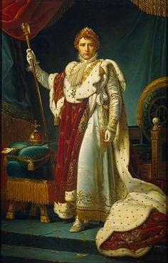 Portret van keizer Napoleon I door François Gérard. Rijksmuseum, Amsterdam