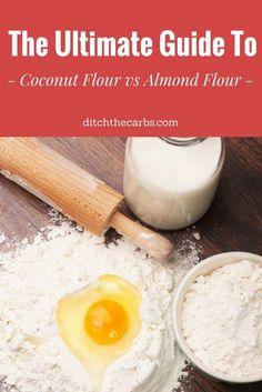 Coconut flour vs alm...