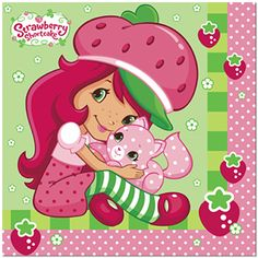 strawberry shortcake images clipart   Pin Strawberry Clip Art Pictures Vector Clipart Royalty Free Images on ...