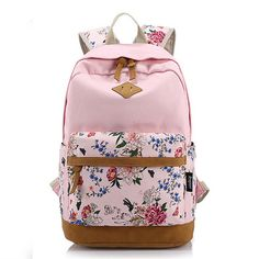 Description Its Type Backpack Material Canvas Gender Women/ Girl , Men/ Boy Weight 600g Length 30cm (11.81'') Height 44cm (17.32'') Width 17cm (6.69'') Pattern Solid Inner Pocket Main Pocket, Computer