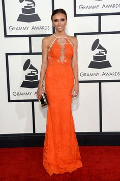 The 10 Best Dressed at the 2014 Grammy Awards // Giuliana Rancic in Alex Perry