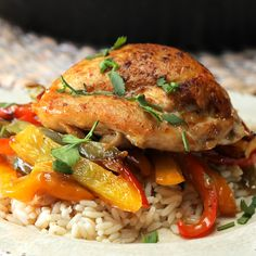The ideas are endless for meals at home, so get cooking with Campbell's Easy Chicken Recipes, Seafood Recipes, Cooking Recipes, Healthy Recipes, Rice Recipes For Dinner, Delicious Dinner Recipes, Tastemade Recipes, Food Tasting, Easy Family Meals