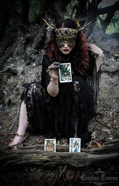"corvuscoronefashionphotography: "" Model: Nik / @hart-heart Photo: Heidi / @haus-of-grotesque Blind Mask: Hysteria Machine Clothing: Corvus Corone """